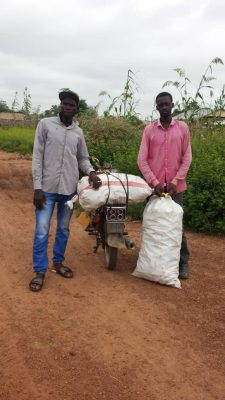 Aspuna Gambia youth farmers